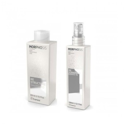 Set Re Structure Express Beauty Shampoo 250ml + Leave in 150ml Morphosis FRAMESI