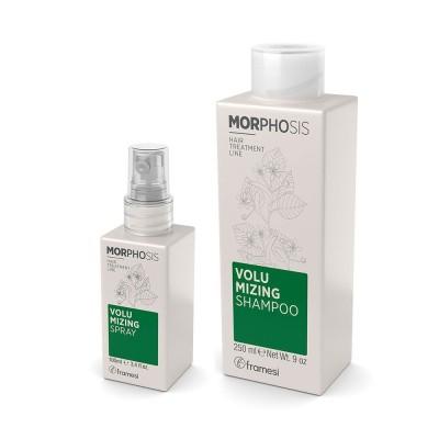 Set Volumizing Shampoo 250ml + Volumizing spray 100ml Morphosis FRAMESI