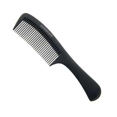 Thin handle carbon comb GUENZANI