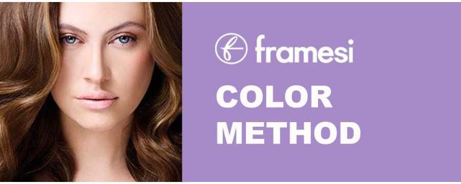 Framesi Color Method aumenta la durata del colore