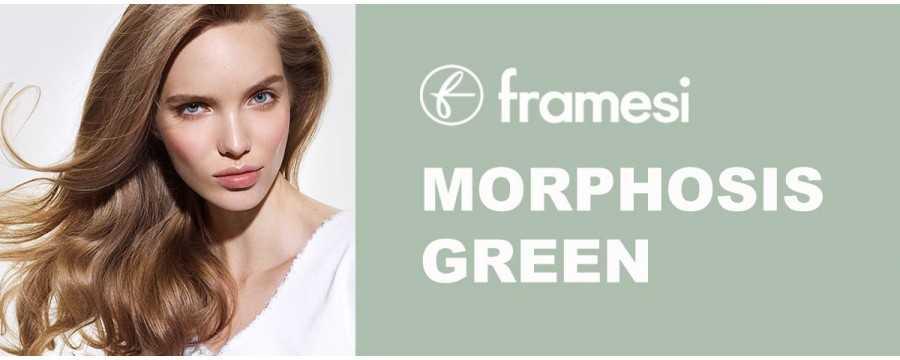 FRAMESI MORPHOSIS GREEN completamente naturale