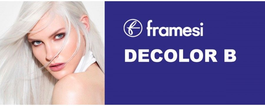 FRAMESI DECOLOR B to bleach hair